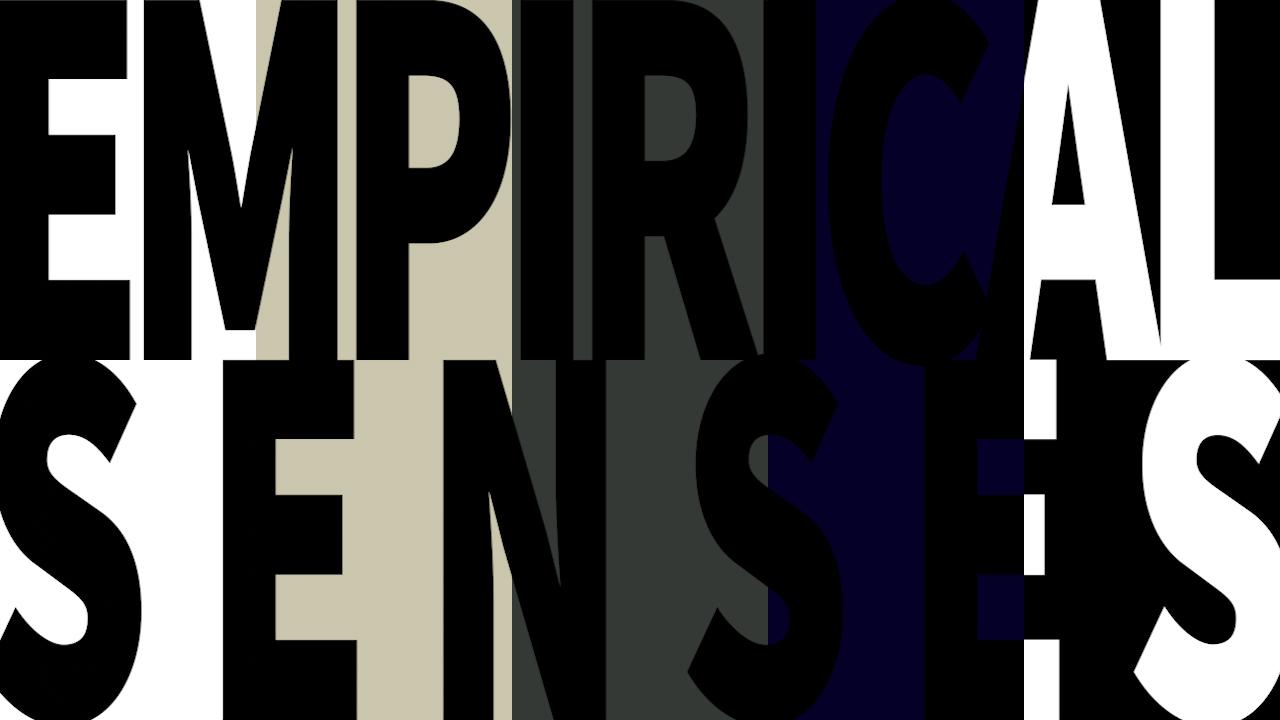 ONLINE EXHIBITION : EMPIRICAL SENSES